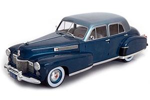 CADILLAC FLEETWOOD 60 SPECIAL SEDAN 1941 BLUE/METALLIC LIGHT BLUE