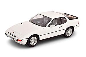 PORSCHE 924 TURBO 1979 WHITE
