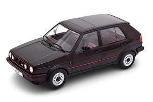 VW VOLKSWAGEN GOLF II GTI 5-DOORS 1984 BLACK