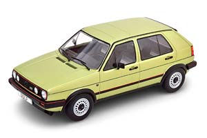 VW VOLKSWAGEN GOLF II GTI 5-DOORS 1984 METALLIC LIGHT GREEN