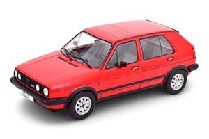 VW GOLF II GTD 5-DOORS 1984 RED