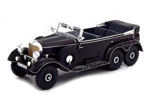 MERCEDES W31 G4 1938 BLACK