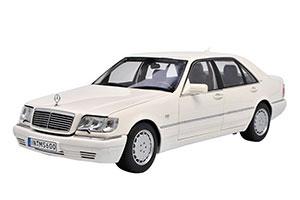 MERCEDES W140 S-CLASS S600 V140 1990 WHITE
