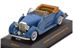 LAGONDA LG6 DROPHEAD COUPE 1938 BLUE