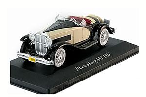 Duesenberg SSJ 1933 Black/Creme