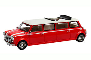 MINI COOPER LIMOUSINE 1990 RED/WHITE *МИНИ