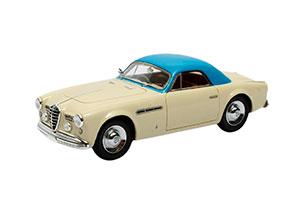 ALFA ROMEO 6C 2500 SUPERGIOIELLO GHIA COUPE 1950 BEIGE/BLUE