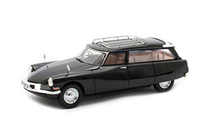 CITROEN ID19 CORTEGE SLOUGH FACTORY HEARSE 1962 BLACK *СИТРОЕН СИТРОЭН