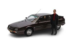 CITROEN CX GTI TURBO 2 ROTTERDAM EDITION С ФИГУРКОЙ JULES DEELDER 1986 BROWN
