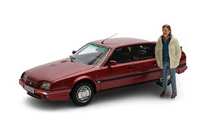 CITROEN CX GTI TURBO 2 С ФИГУРКОЙ HORST SCHIMANSKI ИЗ Т/С « МЕСТО ПРЕСТУПЛЕНИЯ» 1986 MAROON