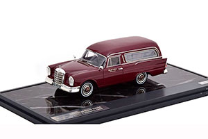MERCEDES W111 220SE POLLMANN HEARSE 1966 MAROON *BENZ BENC МЕРСЕДЕС БЕНС МЕРСИДЕС МЕРСЕДЕЗ БЕНЦ