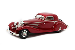 MERCEDES W29 540K SPECIAL COUPE #130944 1936 RED