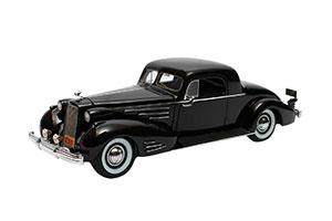 CADILLAC V16 SERIES 90 FLEETWOOD COUPE 1937 BLACK