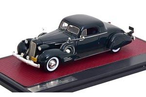CADILLAC V16 SERIES 90 FLEETWOOD COUPE 1937 DARK GREEN