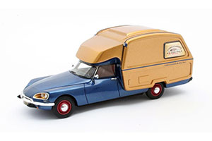 CITROEN ID CAMPER (CAMP) 1973 BLUE/GOLD *СИТРОЕН СИТРОЭН