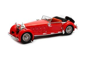 MERCEDES 680S ARMBRUSTER ROADSTER #35213 (OPEN) 1932 RED