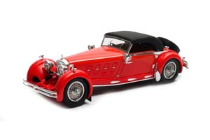 MERCEDES 680S ARMBRUSTER ROADSTER #35213 (CLOSED) 1932 RED