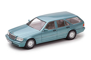 MERCEDES-BENZ S500 T BINZ ESTATE (W140) CADFORM T140S 1994 METALLIC BLUE