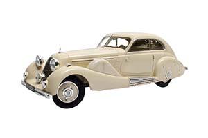 MERCEDES-BENZ 500K SPECIAL STREAMLINE CAR TAN TJOAN KENG 1935 WHITE