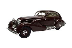 MERCEDES-BENZ 500K SPECIAL STREAMLINE CAR TAN TJOAN KENG 1935 MAROON