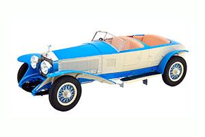 ROLLS-ROYCE NEW PHANTOM BARKER TOURER #10EX 1926 BLUE/WHITE *РОЛЛС РОЙС РОЛС РОЙСЕ ROLS ROIS