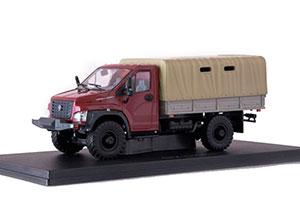 GAZ C41 A21 2 DARK RED (USSR RUSSIAN) | ГАЗ С41 А21 2 БОРДОВЫЙ *ГАЗ ГОРЬКОВСКИЙ АВТОЗАВОД ГОРЬКИЙ