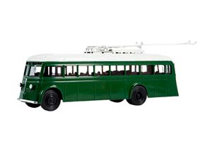 YATB-1 (USSR RUSSIA BUS) 1936 GREEN OUR BUSES #14 | ЯТБ-1