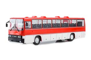 IKARUS 250.59 TOURISTIC (USSR RUSSIA BUS) 1976 RED OUR BUSES #18 | ИКАРУС-250.59 ТУРИСТИЧЕСКИЙ НАШИ АВТОБУСЫ #18