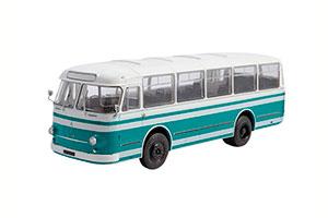 LAZ-695M (USSR RUSSIA BUS) BEIGE/GREEN | ЛАЗ-695М НАШИ АВТОБУСЫ #23 *ЛАЗ ЛЬВОВСКИЙ АВТОЗАВОД