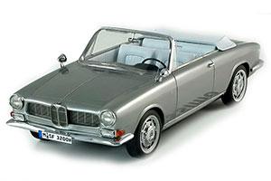 BMW 3200 CS QUANDT CABRIO BERTONE 1961 SILVER *БМВ БИМЕР БУМЕР