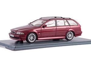 BMW E39 530I TOURING 2002 METALLIC DARK RED