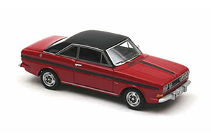 FORD TAUNUS P6 15M RS COUPE 1968 RED/BLACK *ФОРД ФОРТ