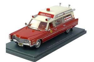 CADILLAC S&S АMBULANCE FIRE RESCUE 1966