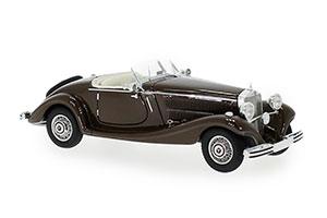 MERCEDES W18 TYPE 290 ROADSTER 1936 BROWN