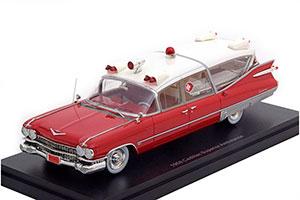 CADILLAC S&S SUPERIOR CROWN ROYALE AMBULANCE 1959 *КАДИЛАК КАДИЛЛАК КЭДИ