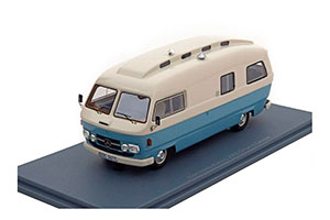 MERCEDES L206D ORION II CAMPER 1974 WHITE/LIGHT BLUE *BENZ BENC МЕРСЕДЕС БЕНС МЕРСИДЕС МЕРСЕДЕЗ БЕНЦ