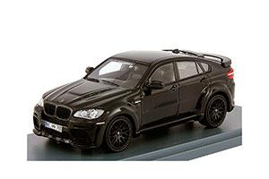 BMW X6M HAMANN TYCOON EVO 2011 BLACK METALLIC/DARK ANTHRACITE