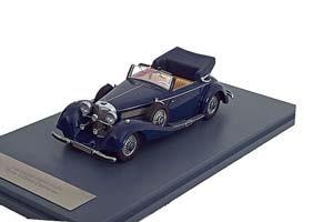 MERCEDES 540K TYPE A CONVERTIBLE 1936 DARK BLUE