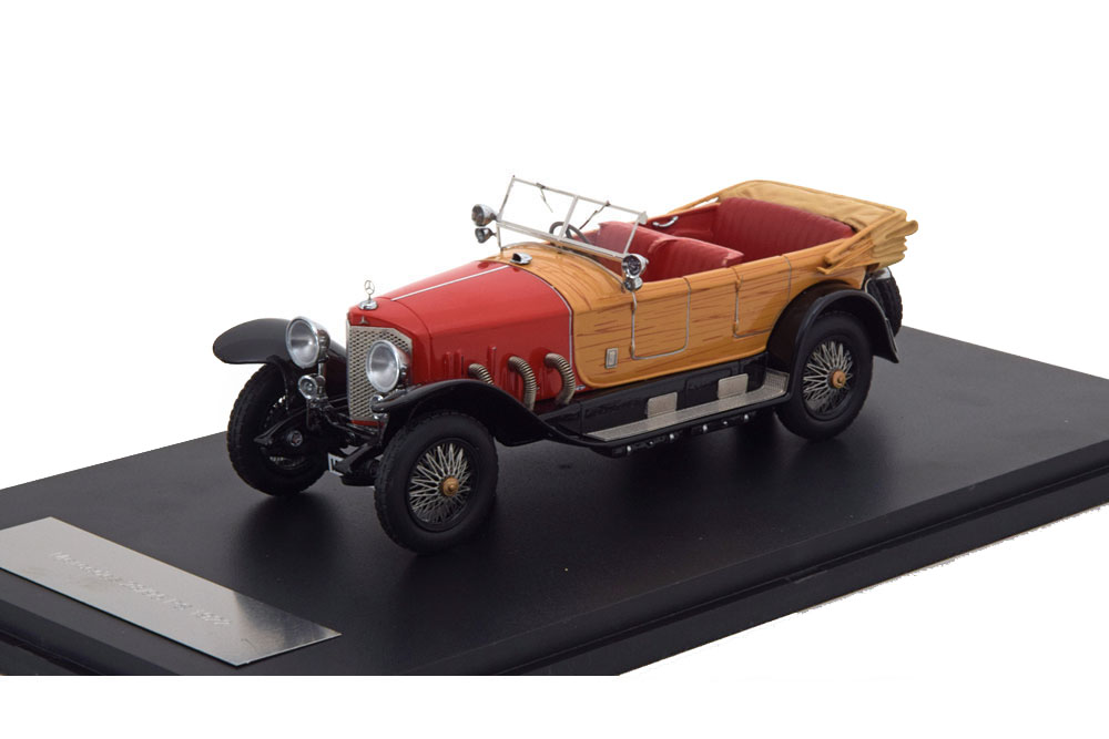 MERCEDES 28/95 1922 RED/WOODEN OPTIC