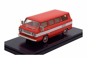 CHEVROLET CORVAIR WINDOW VAN 1963 RED/WHITE