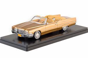 Cadillac Deville Convertible, gold