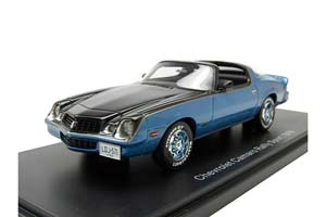 CHEVROLET CAMARO LT 1978 METALLIC BLUE/BLACK