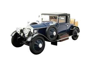 ROLLS-ROYCE SILVER GHOST DOCTORS COUPE 1920 DARK BLUE/BLACK