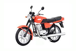 JAWA 350/638-0-00 (USSR RUSSIA) 1954 RED | ЯВА 350/638-0-00