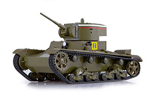 TANK PANZER T-26 (33) (USSR RUSSIA) OUR PANZERS #5 | ТАНК Т-26(33) НАШИ ТАНКИ #5