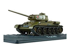 TANK PANZER T-34-85 OUR PANZERS #41 (USSR RUSSIA) | ТАНК Т-34-85 НАШИ ТАНКИ #41 *БАК