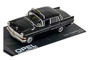 OPEL KAPITAN P II TAXI 1959 BLACK *ОПЕЛЬ