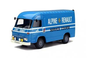 SAVIEM SB2 ASSISTANCE RACE ALPINE 1968 BLUE LIMITED EDITION 1500 PCS.