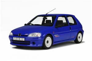 Peugeot 106 Rally 1996 Blue Limited Edition 1250 pcs.