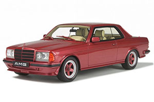 MERCEDES 500 CE AMG 1983 RED METALLIC LIMITED EDITION 2000 PCS.